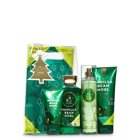 Bath and Body Works Vanilla Bean Noel Holiday Traditions Gift Set. ()