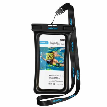 Mobile Phone Case Bag - Mpow Floatable Waterproof Case, Dry Bag Cellphone Pouch for iPhone X/8/8 Plus/7/7 Plus, Google Pixel, LG, Samsung Galaxy and More