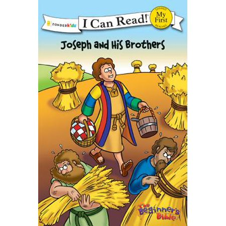 I Can Read! My First Shared Reading (Zonderkidz): The Beginner's Bible Joseph and His Brothers