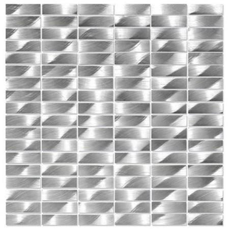 Alttoglass Me0001 Museum Aluminum Mosaic Tile    Louvre