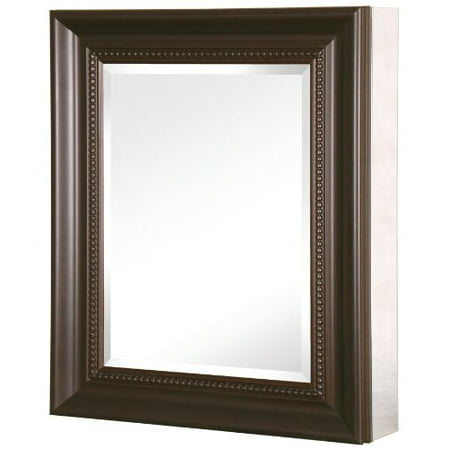 24 in x 30 in recessed or surface mount mirrored medicine cabinet
