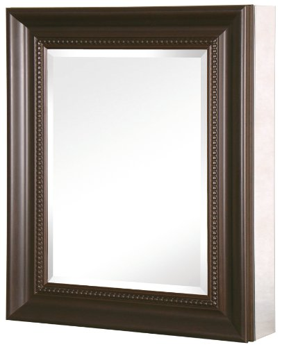 Recessed or Surface Mount Mirrored Medicine Cabinet with Deco  sc 1 st  Walmart & 24 in. x 30 in. Recessed or Surface Mount Mirrored Medicine Cabinet ...