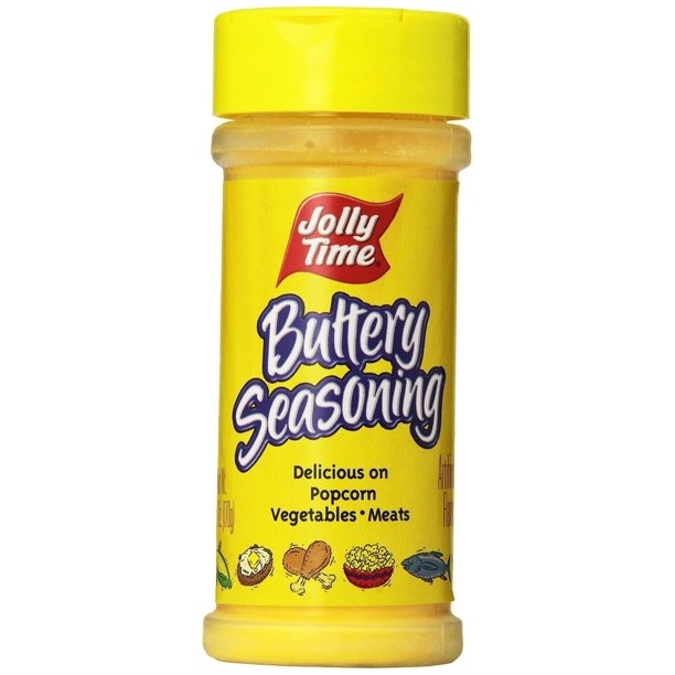 Jolly Time Buttery Popcorn Seasoning Movie Theatre Popcorn Salt Powder 6 Ounce Jars Walmart Com Walmart Com