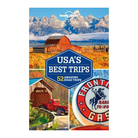 Travel guide: lonely planet usa's best trips - paperback: