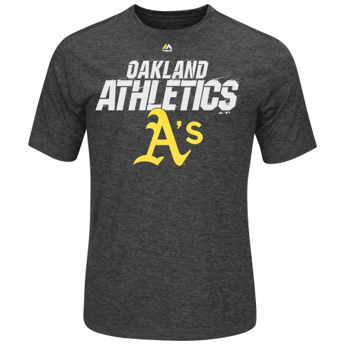 Oakland Athletics A's MLB Men's Winning Moment Synthetic Cool Base T-Shirt (Xlarge) by MAJESTIC LSG