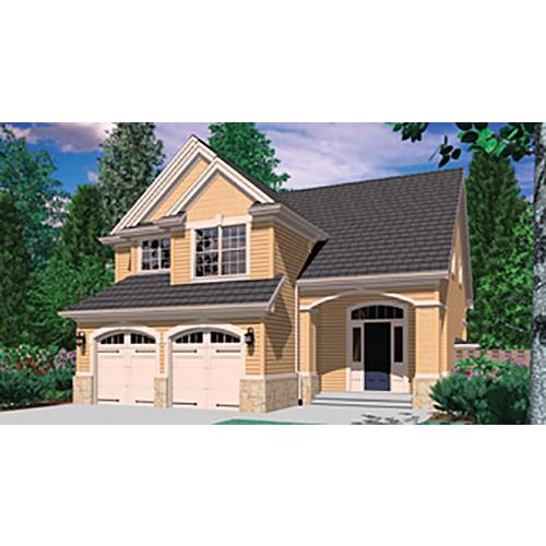 TheHouseDesigners-4327 Construction-Ready Country House