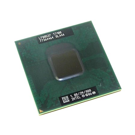 SLA4A Intel Core 2 DUO T7100 1.8GHZ Socket P CPU Laptop Notebook Processor USA Intel Dual Core & Pentium D Processors