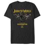 Jurassic World Men's Velociraptor Pure T-Shirt