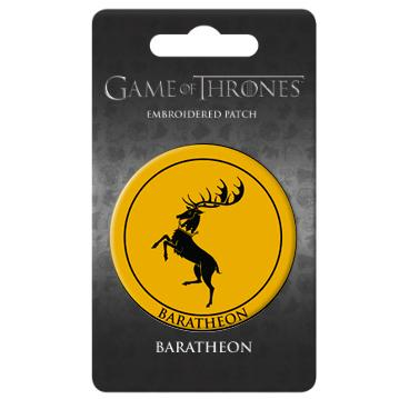 Game of Thrones Baratheon House Crest Patch