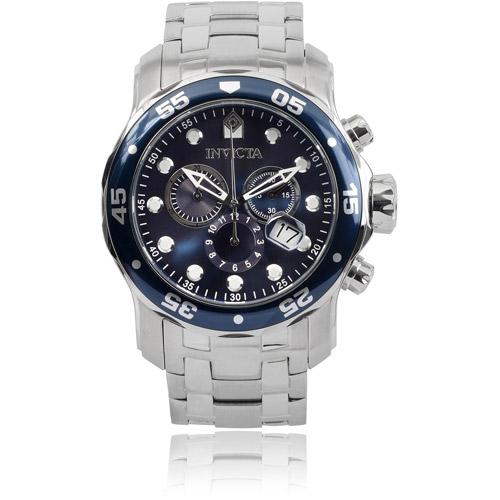 invicta s 0070 pro diver quartz chronograph
