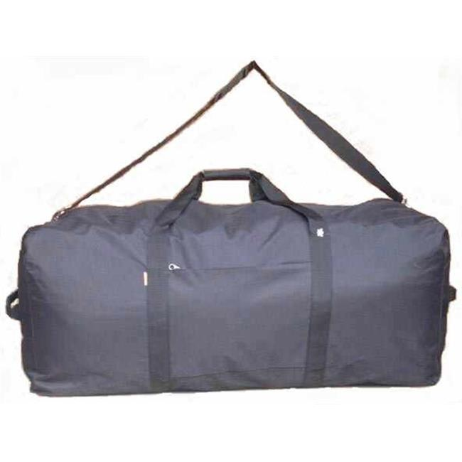 K-Cliffs 600D Polyester Square Cargo Duffel Bag - 42 x 20 x 20 in. Black