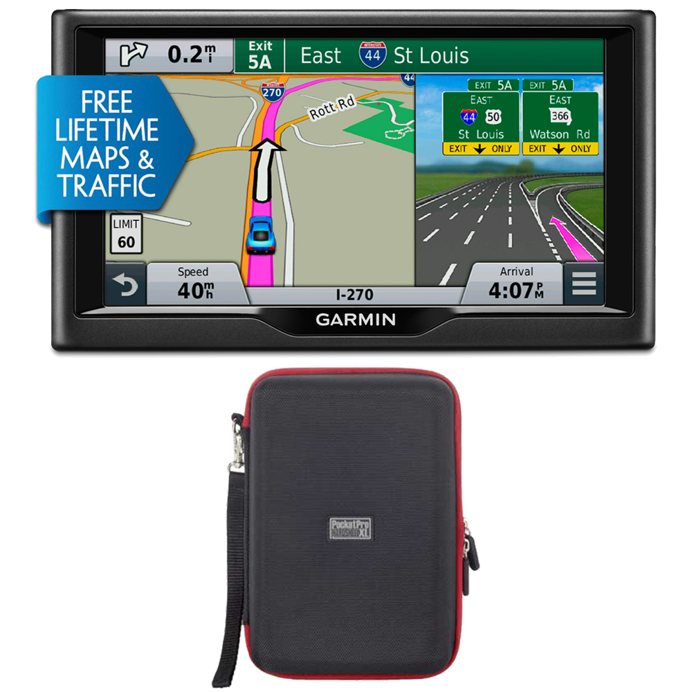 "Garmin nuvi 67LMT 6"" 010-01399-02 Essential Series 2015 G..."