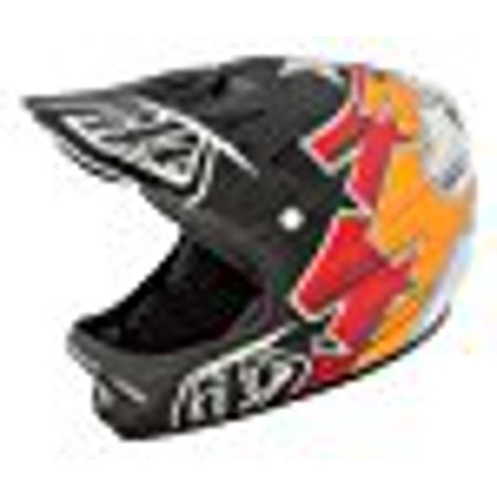 Troy Lee Designs Fusion Adult D2 Bike Sports BMX Helmet - Black / Medium/Large
