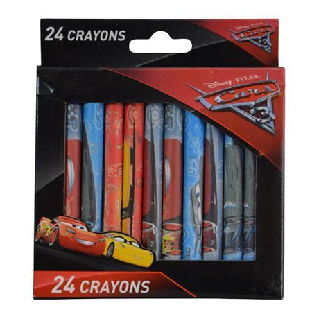 Cars Party Favor Boxes (Party Favors Disney Cars 3 24pc Crayons in Window)
