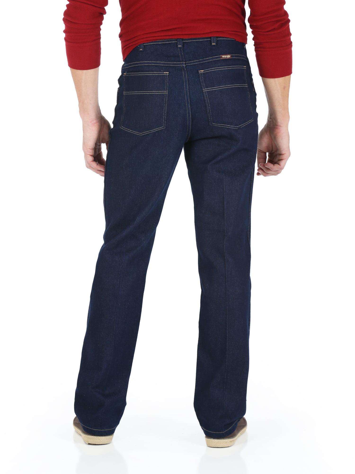c422a299 Wrangler - Hero - Big Men's Stretch Jeans with Flex-Fit Waist - Walmart.com