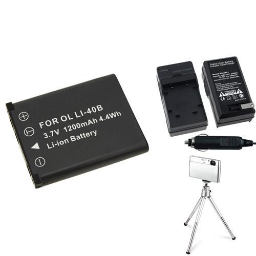 2-Pack Replacement Nikon S520 Battery /& Charger Set for Nikon EN-EL10 Digital Camera Battery /& Charger Kit 1200mAh, 3.7V, Li-Ion