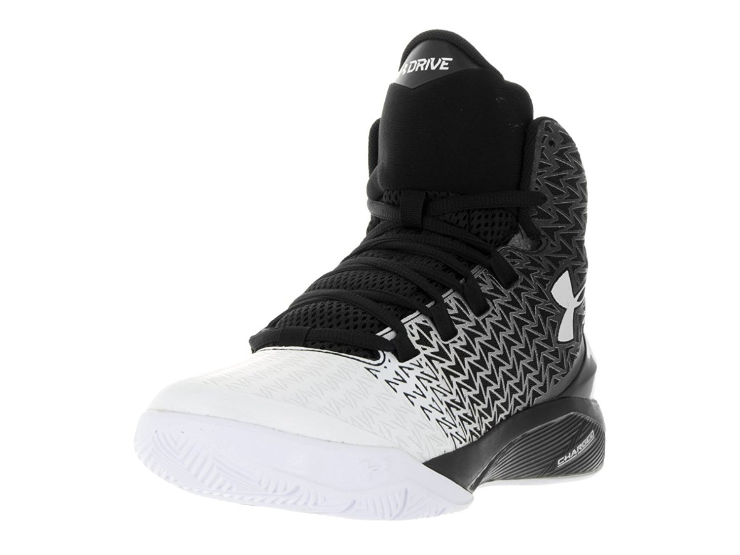 Under Armour UA BGS Clutchfit Drive 3 Black and White Sizes for Men and Youth