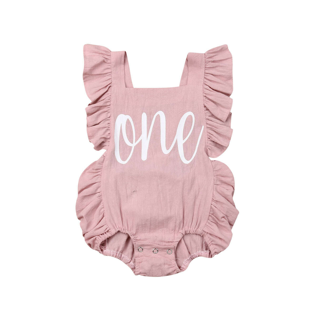 Ma&Baby - Newborn Infant Baby Girls Romper Clothes Outfit ...