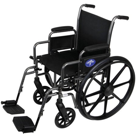 Jet 3 Ultra Power Wheelchair - Medline K1 Basic Wheelchair, 16