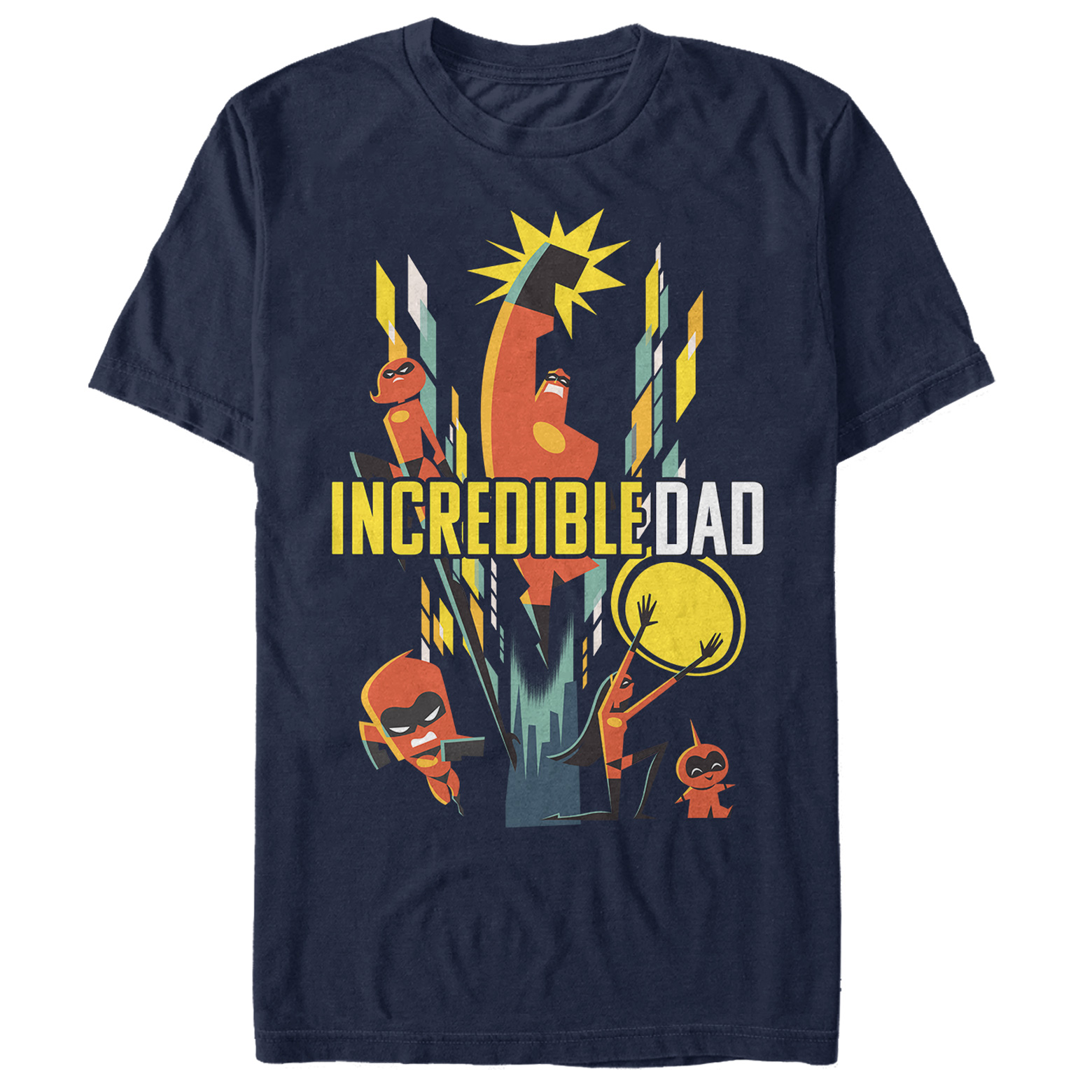 The Incredibles 2 Men's Modern Incredible Dad T-Shirt