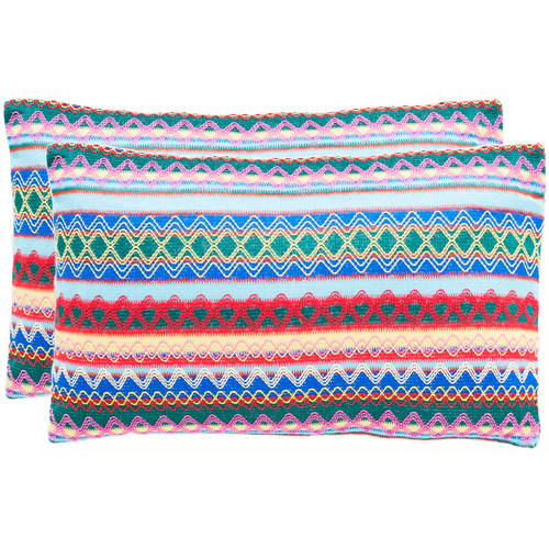 Safavieh Mirabelle Pillow, Multiple Color, Set of 2