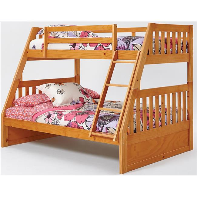 Chelsea Home Furniture 36TF700 Twin Over Full Mission Bunk Bed