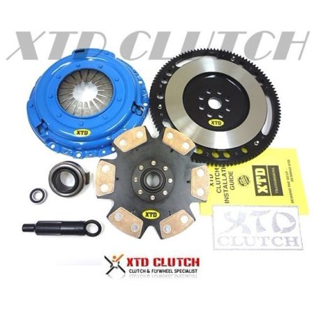 XTD STAGE 4 EXTREME CLUTCH & FLYWHEEL KIT 94-01 INTEGRA 99-00 CIVIC Si *2100 - Flywheel 1996 Integra
