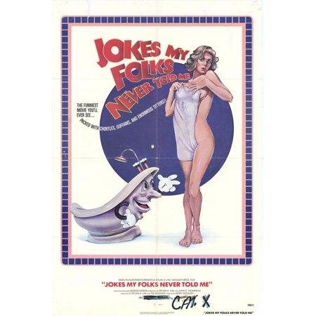 40 Folk Art Designs - Jokes My Folks Never Told Me - movie POSTER (Style A) (27