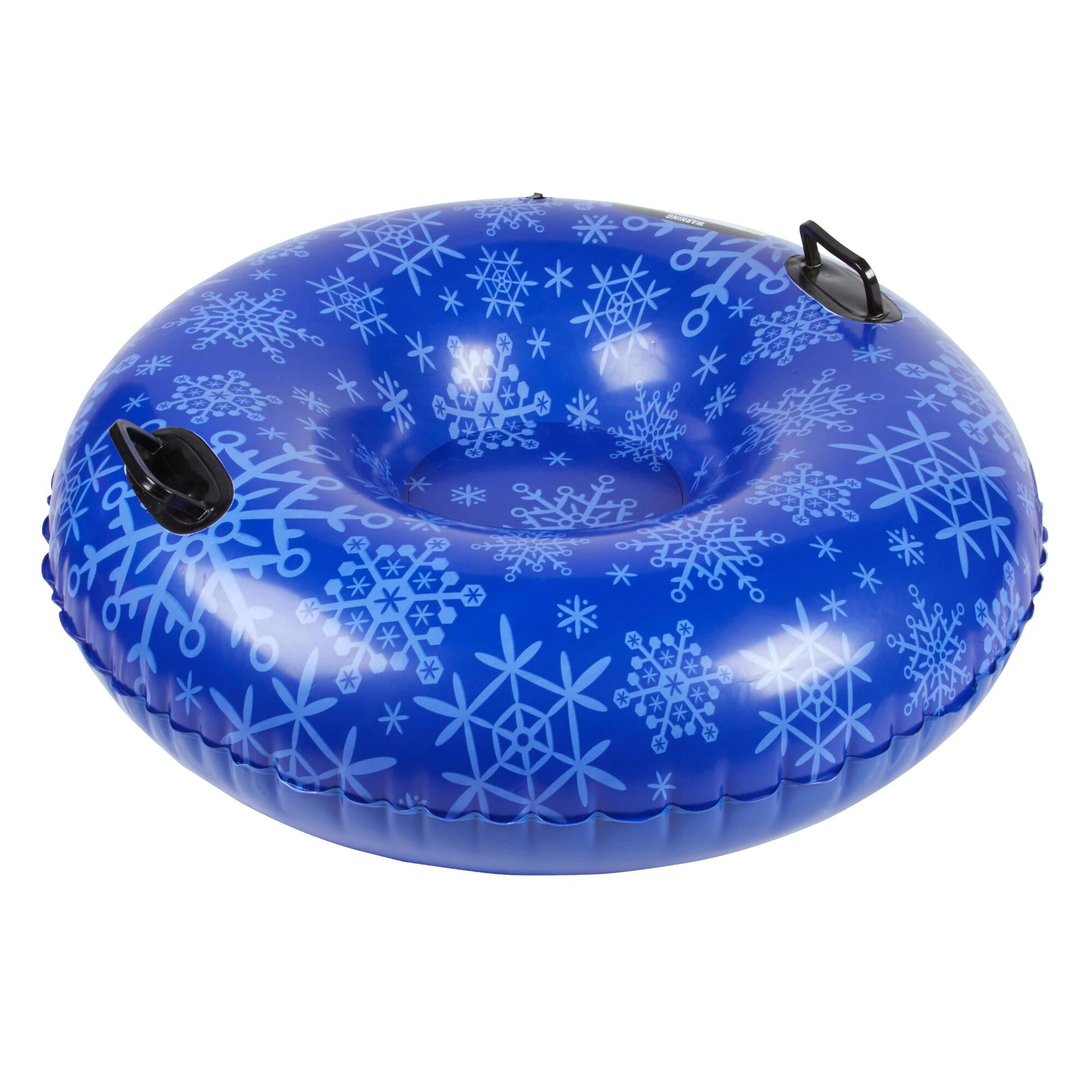 Blizzard King 42-Inch Inflatable Snow Tube Sled, Blue Snowflake by Blizzard King
