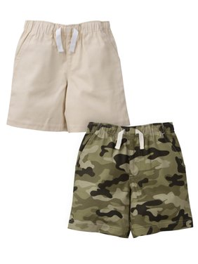 939bc896b4 Product Image Gerber Graduates Woven Twill Shorts, 2pk (Baby Boys and  Toddler Boys)