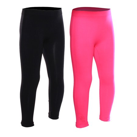 0b000922c8a076 Emmalise - Emmalise Girls Seamless Ankle Length Legging Pants 5-12 years old  Regular or Fleece - Walmart.com
