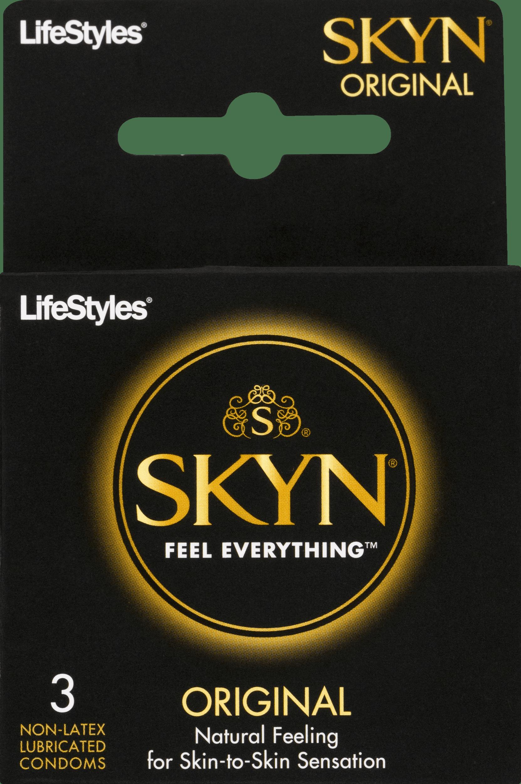 Skyn condom original size