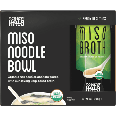 Ocean's Halo Organic and Vegan Instant Miso Noodle Bowl, 2