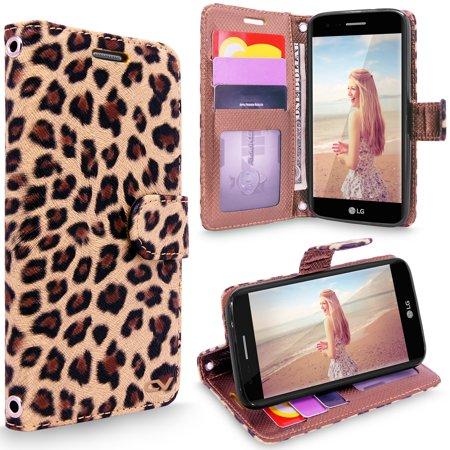 LG K20 Plus Case, LG K10 2017 Case, Cellularvilla [Card Slots] [Wristlet] Premium PU Leather Flip Wallet Case Cover For LG K20 Plus / LG K10 2017 / LG LV5 / LG Harmony /LG K20