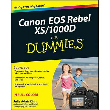 Canon EOS Digital Rebel XSi/1000D for Dummies
