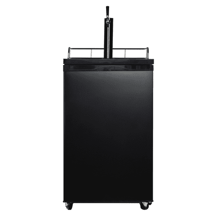 - Arctic King Single-Tap Kegerator Matte Black