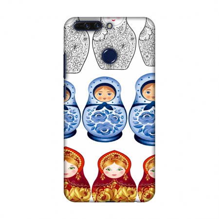 Huawei Honor 8 Pro Case, Premium Handcrafted Printed Designer Hard Snap on Shell Case Back Cover with Screen Cleaning Kit for Huawei Honor 8 Pro - Matryoshka dolls- Russia