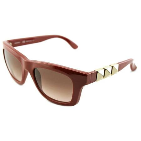 Valentino V691S Women    Burgundy (Valentino Sunglasses Sale)