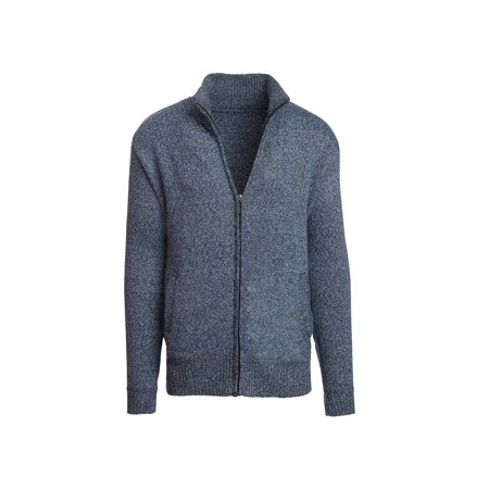 Alta Men's Casual Long Sleeve Full-Zip Mock Neck Sweater Jacket](Long Tuxedo Jacket)
