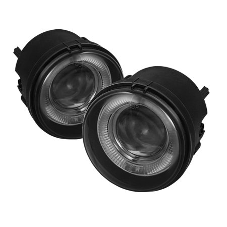 Spyder Halo Projector Fog Lights (Smoke) - 07- 12 Dodge Caliber FL-P-DCH05-HL-SM