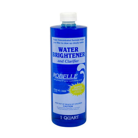 Robelle Water Brightener and Clarifier for Swimming Pools 1