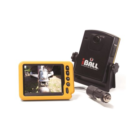 iBall Digital Pro Wireless Magnetic Trailer Hitch Rear View Camera LCD Monitor Fits Any Vehicle, Car or Truck