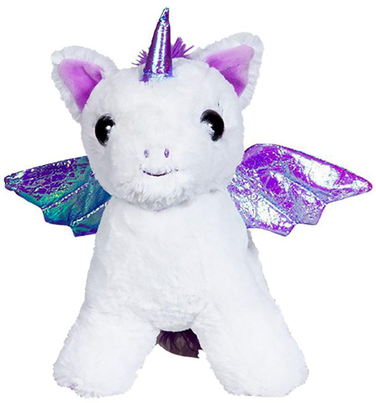 Cuddly Soft 8 inch Stuffed Moonbeam the Pegasus...We stuff 'em...you love 'em!