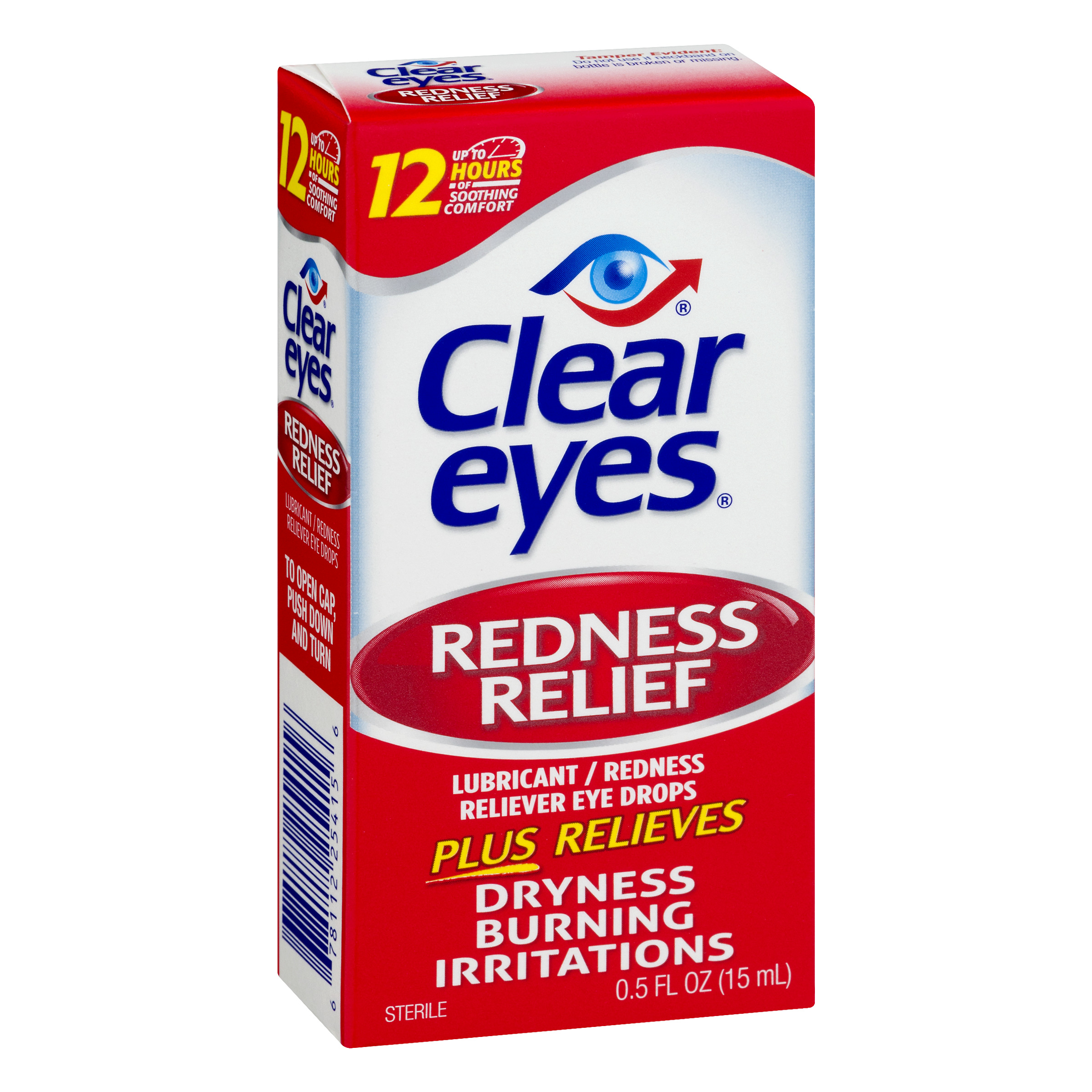 Clear Eyes - Redness Relief Eye Drops, 0.5 Ounce