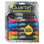 Quartet EnduraGlide Dry-Erase Markers, Chisel Tip, Assorted Colors, 12 Pack (5001-20MA)