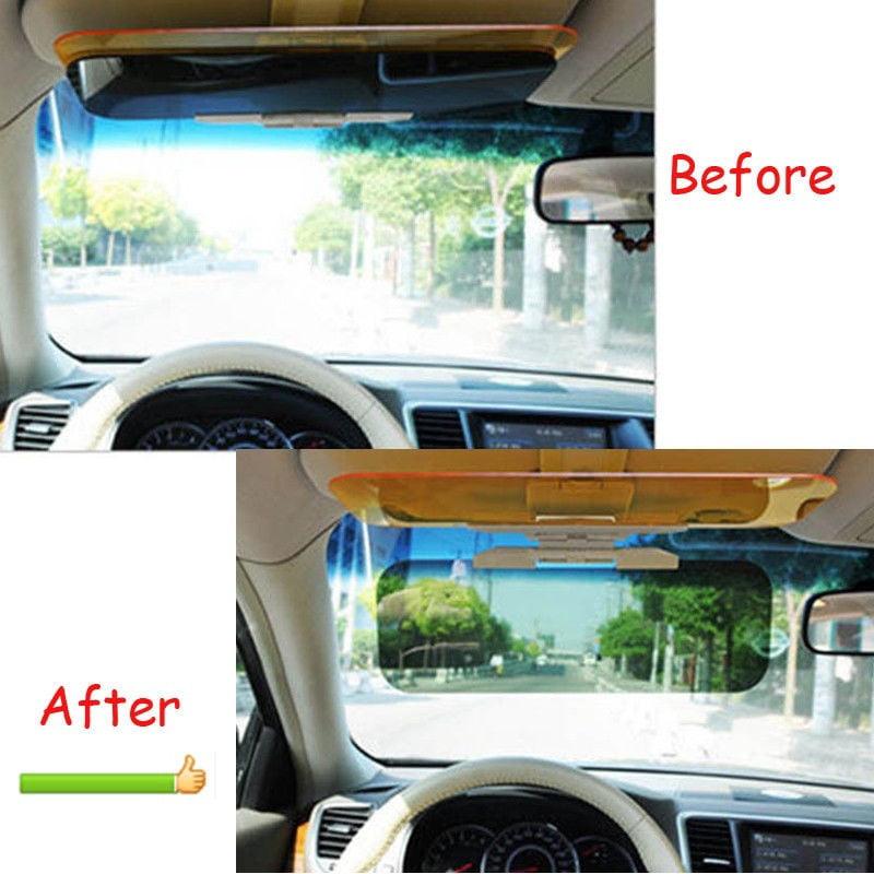 Car Sun Visor Extender 2 in 1 Car Anti-Glare Visor for Day /& Night Driving Tac Visor for Car Night Visor for Driving Anti-Dazzle Driving Sunvisor,UV-Filtering Eye Protector