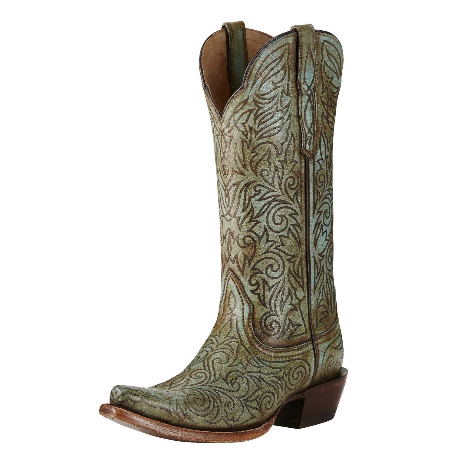 Ariat Women's Turquoise Sterling Boot Snip Toe - 10019964