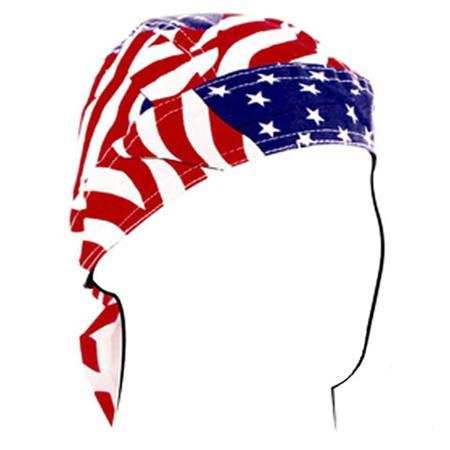 ROAD HOG FLYDANNA , COTTON, WAVY AMERICAN FLAG