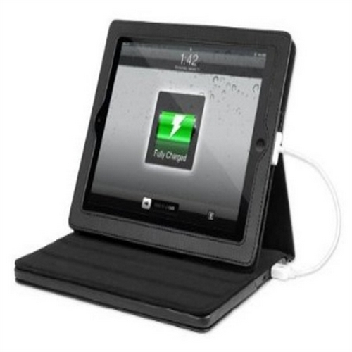 Refurbished Justin Power ITJ-4230 11,600 mAh Rechargeable Power Case Designed for iPad (Generations 1, 2, 3 and 4), Black