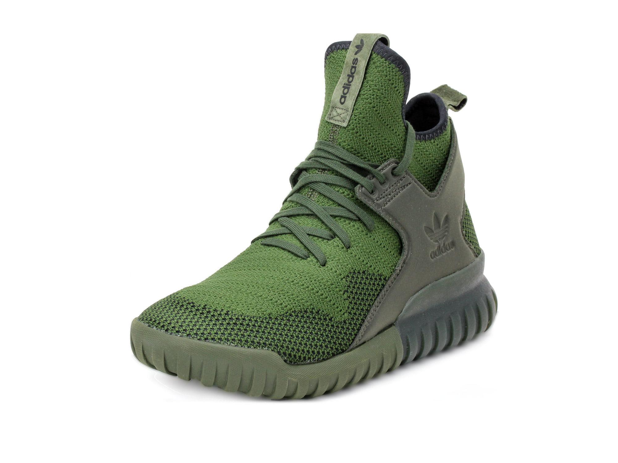 Adidas Mens Tubular X PK Primeknit Green S76713 by Adidas